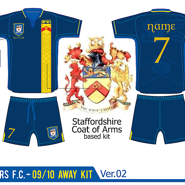 Stafford Rangers Away Kit ver. 02