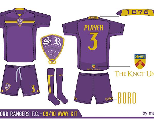 Stafford Rangers Away Kit ver. 05