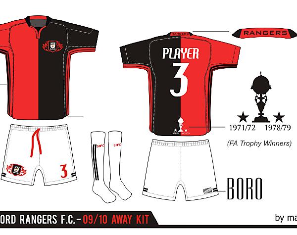 Stafford Rangers Away Kit ver. 06