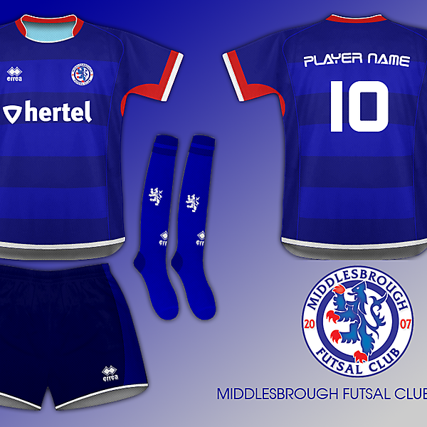 #3 - Kit Design Contest - Middlesbrough Futsal Club (closed)