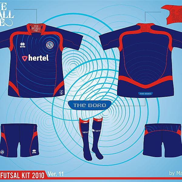 Middlesbrough Futsal Club Kit - Version .11