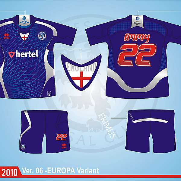 Middlesbrough Futsal Club Version.06 - Europa Version