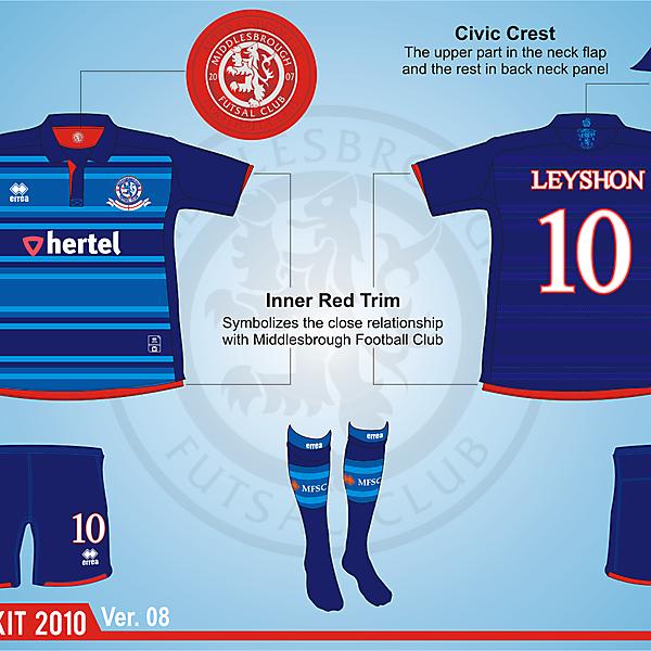Middlesbrough Futsal Club Version.08