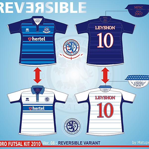 Middlesbrough Futsal Club - Ver.08 Reversible variant