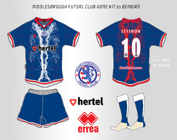 Boro Futsal Home Kit BB