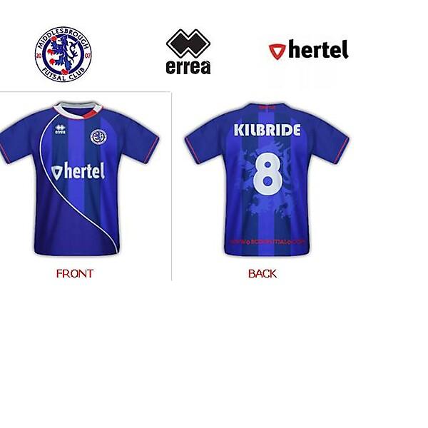 Middlesbrough Futsal Home shirt