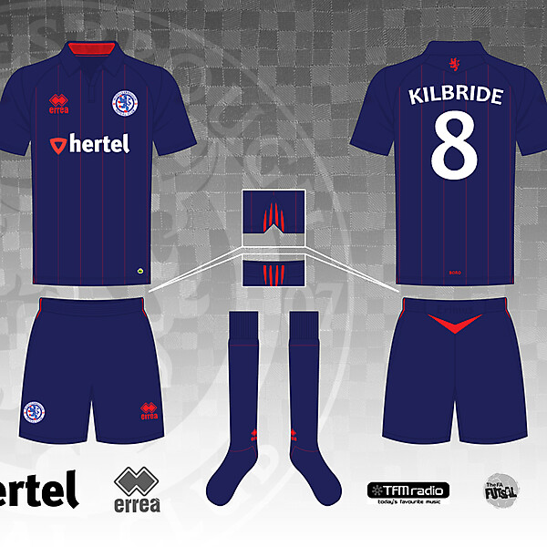 Middlesbrough Home Kit Version 10 by Morgan OBrien