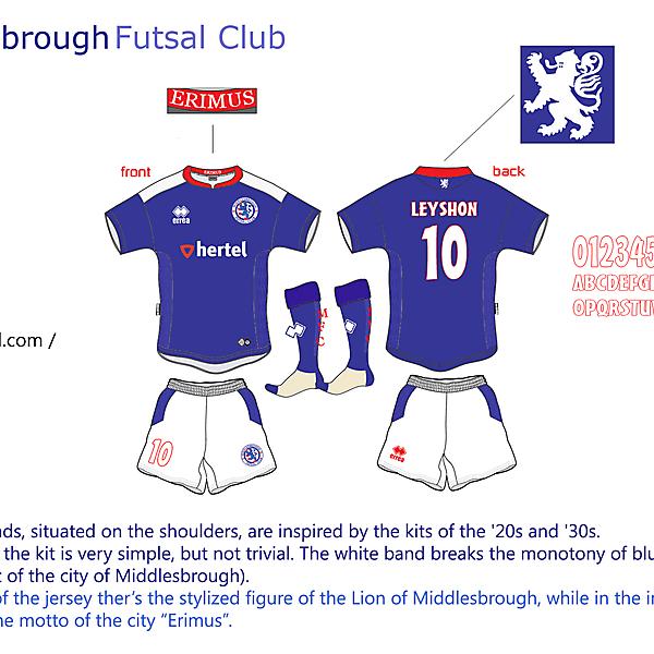 Middlesbrough Futsal Club #5 --- Matte1897