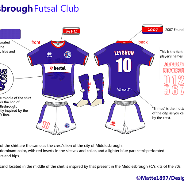Middlesbrough Futsal Club #3 --- Matte1897