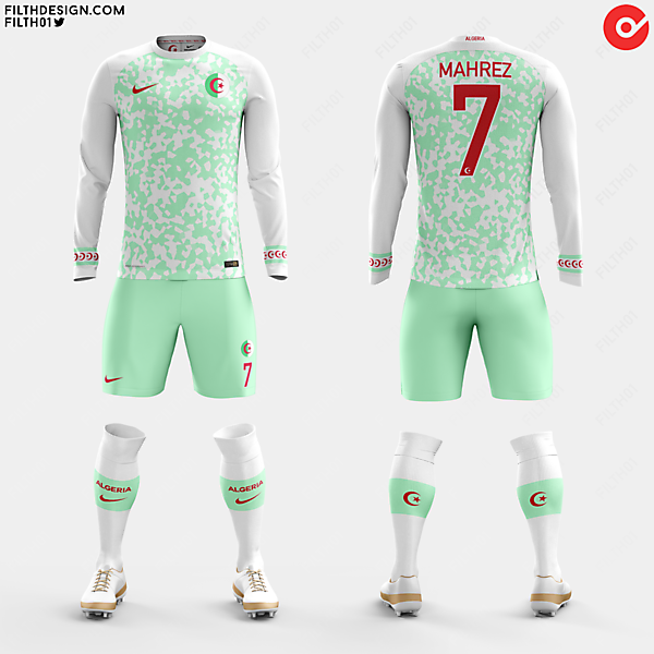 Algeria x Nike | Home Kit