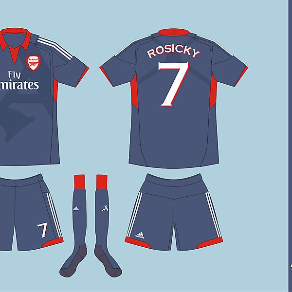 Arsenal FC Adidas Away version 01