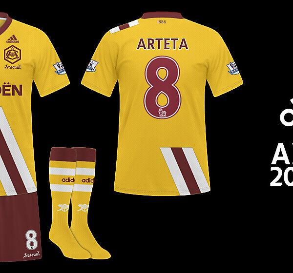 Arsenal Adidas - Away