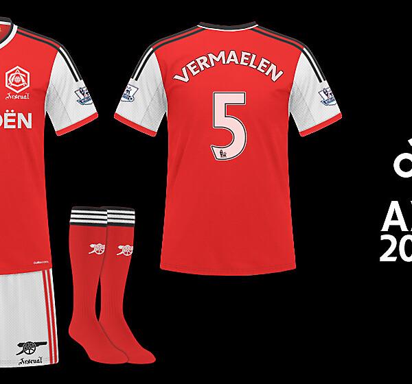 Arsenal Adidas - Home