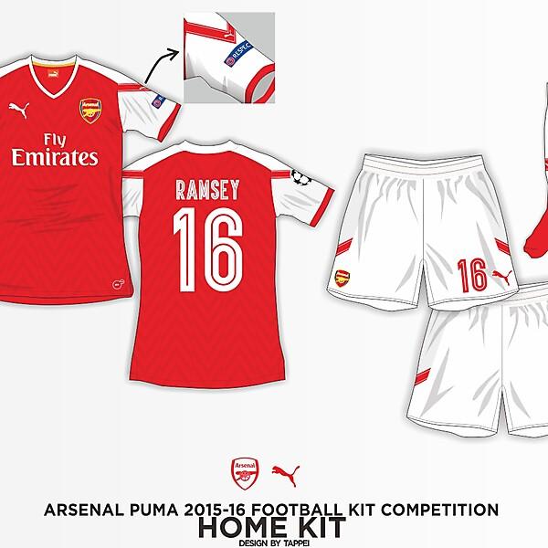 Arsenal 15-16 Puma Home Kit Concept