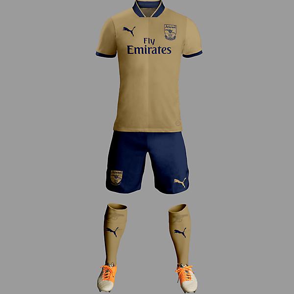 Arsenal 15-16 Third Kit / Puma