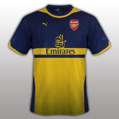 Arsenal 2015/16- Away