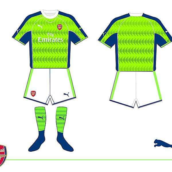 Arsenal Away kit