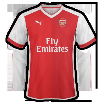 Arsenal Home Kit 2015-16