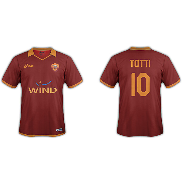AS Roma Home Asics