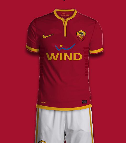 AS Roma Nike Home Kit