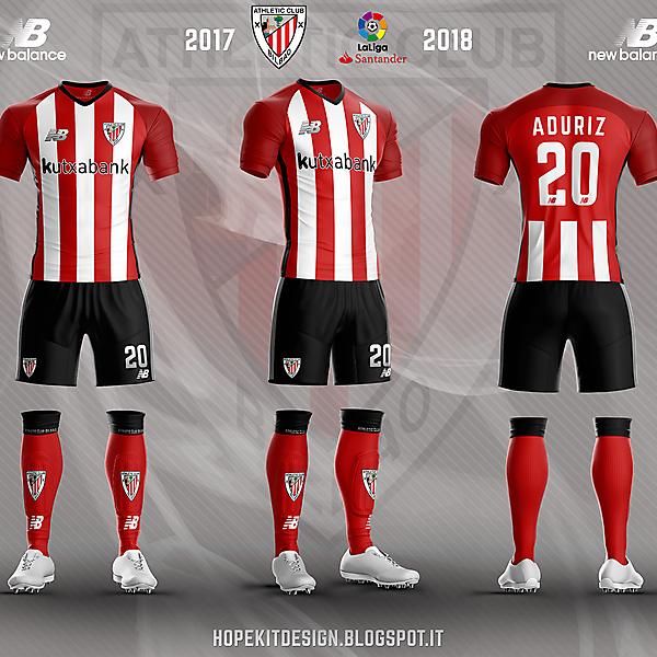 Athletic Bilbao x NB- home