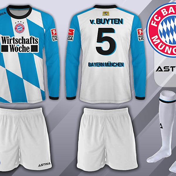 Bayern Munich - Astina - Third Kit