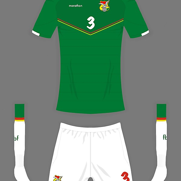 Bolivia home shirt