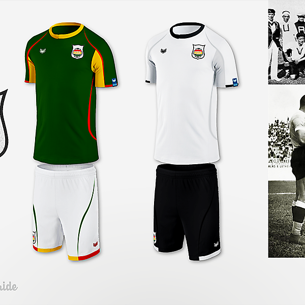 Bolivia NT - new crest and kits