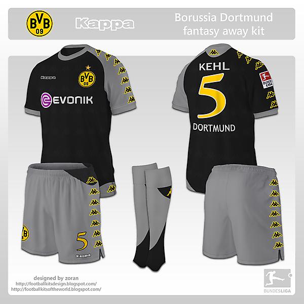 Borussia Dortmund fantasy away