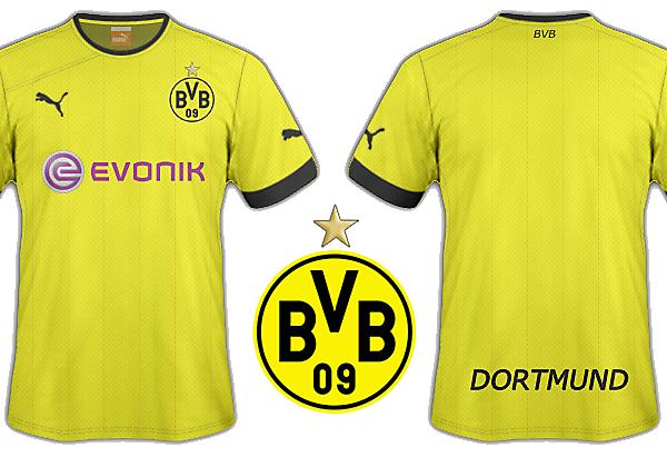 Dorussia Dortmund puma kits
