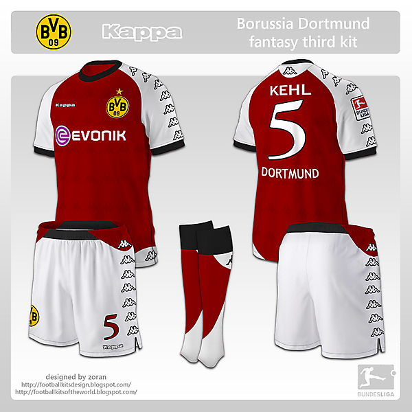 Borussia Dortmund fantasy third