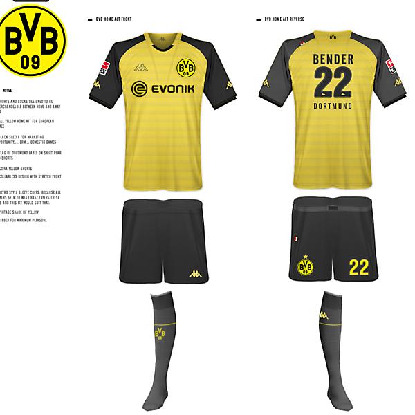 Borussia Dortmund Kits - Kappa