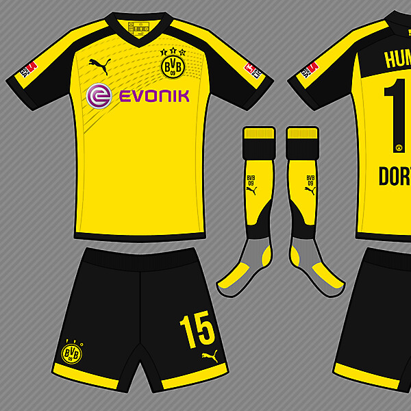Borussia Dortmund Home Kit