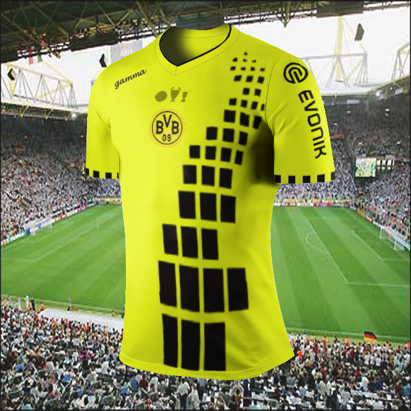 Borussia Dortmund Treble Winning Kit/Logo Competition (closed)