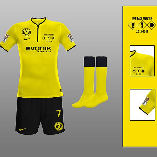 Borrusia Dortmund Home Kit 13-14