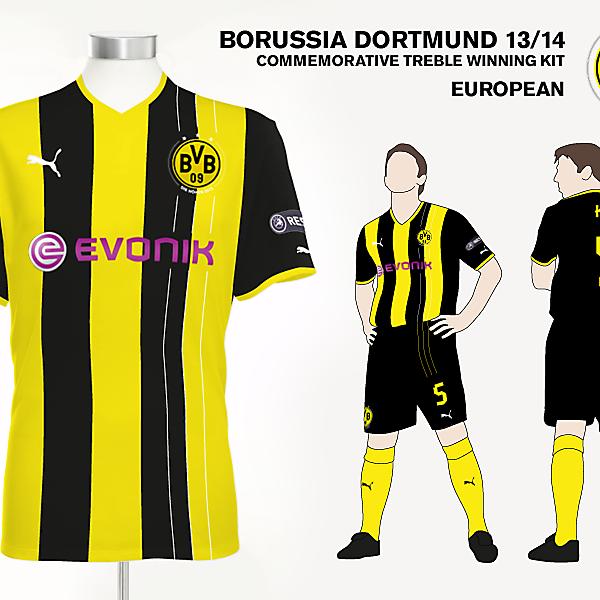 Borussia Dortmund European Kit
