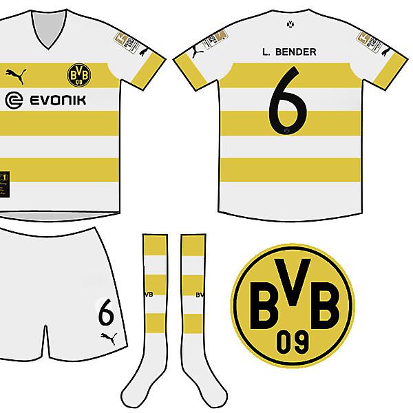 Borussia Dortmund Treble Winning Away Kit