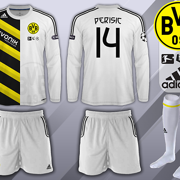 Borrusia Dortmund European Away