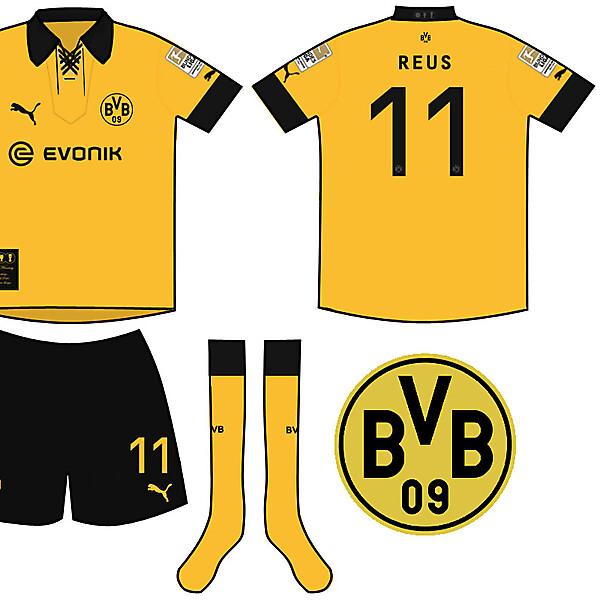 Borussia Dortmund Treble Winning Home Kit