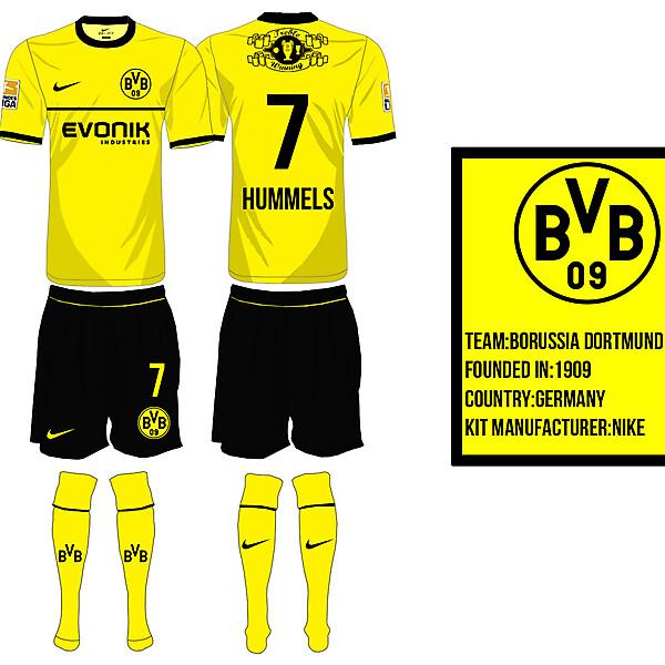 Borrusia Dortmund Home Kit