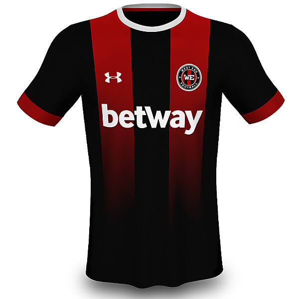 West End (Newcastle United) Home Jersey