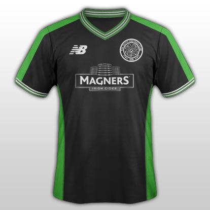 Celtic Away - New Balance