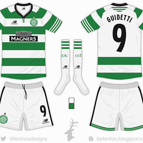 Celtic Home Kit - New Balance