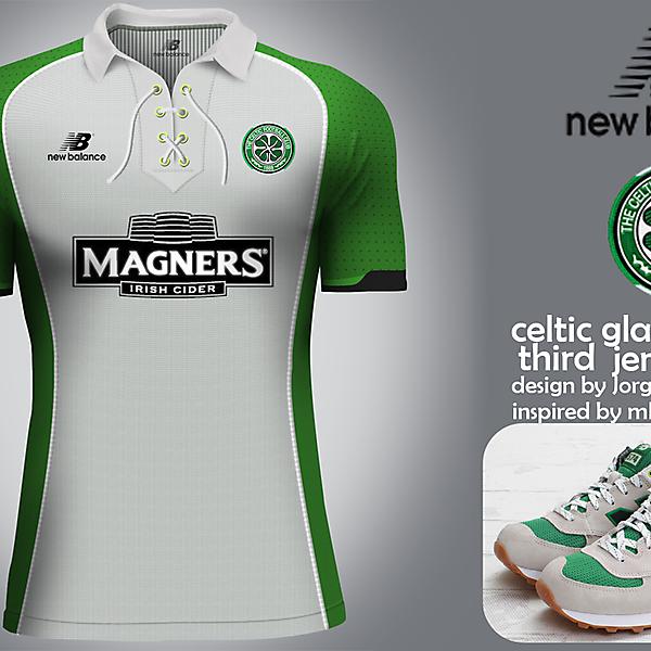 Celtic Glasgow New Balance third jersey