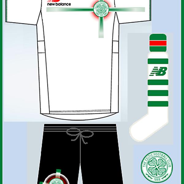 New Balance - Celtic Away Kit