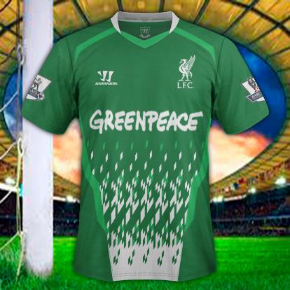 Liverpool Away GreenPeace