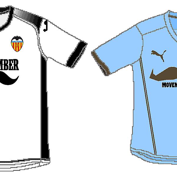 Valencia and Coventry City - Movember