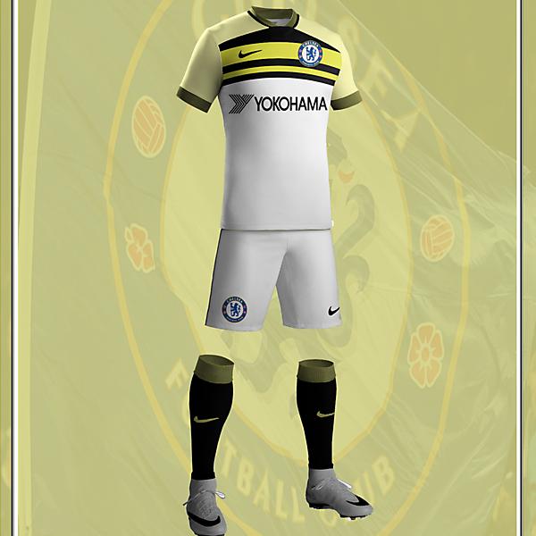 Chelsea FC 2017/18 Nike Away Kit
