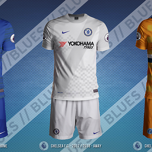 Chelsea Fc 2017/2018 Nike Concepts