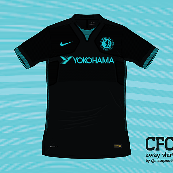 Chelsea FC away shirt by Nike